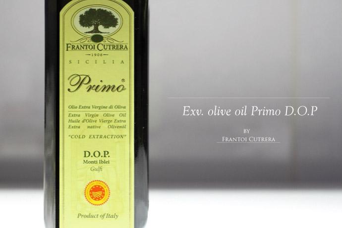 オリーブオイル プリモ D.O.P フラントイ・クトレラ社 イタリア産 (Italian olive oile Primo DOP by Frantoi Cutrera)