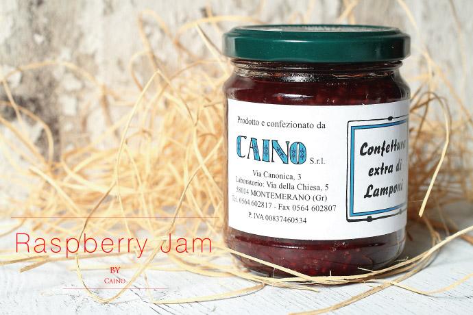 木いちご ジャム カイーノ社 イタリア産 (Italian Raspberry jam by Caino)