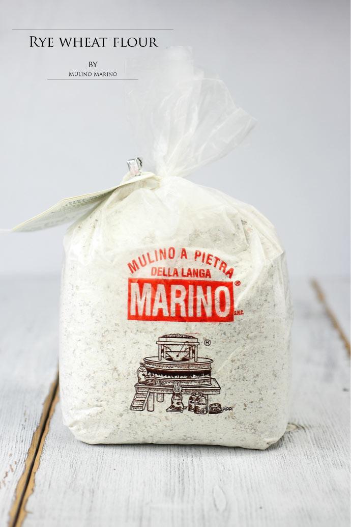 ライ麦粉 イタリア産 Mulino Marino社 (Italian Rye flour)
