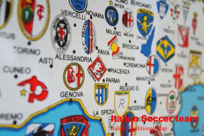 イタリア サッカーチーム タペストリー