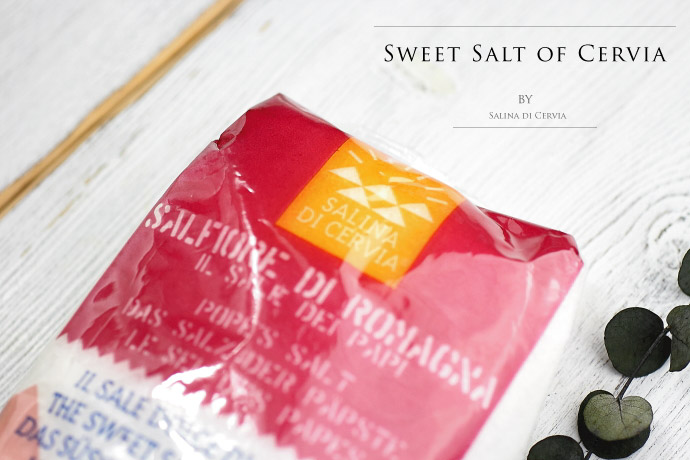 Salina di Cervia サルフィオーレ(細粒)1kg (Italian sweet salt of cervia)