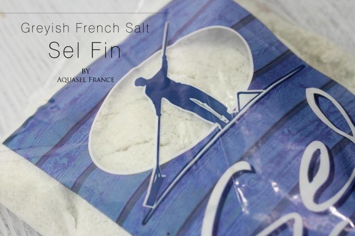 海塩 (細粒) セル・マリン ファン アクアセル社 フランス産 (French Fine Salt by Aquasel)