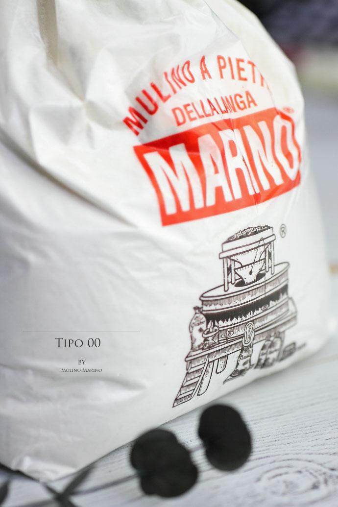 軟質小麦粉00番 ムリーノマリーノ社 イタリア産 (Italian Soft Wheat 00 by Mulino Marino)