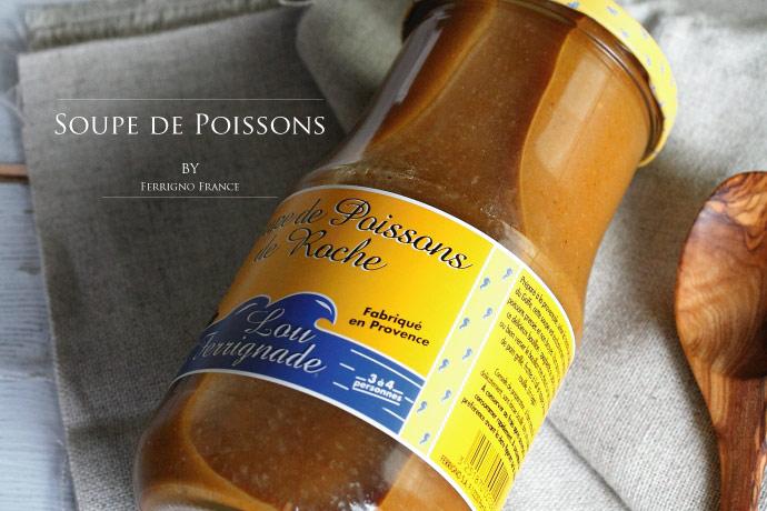 魚介スープ スープ ド ポワソン フランス プロヴァンス産 850ml (Soupe de Poissons France)