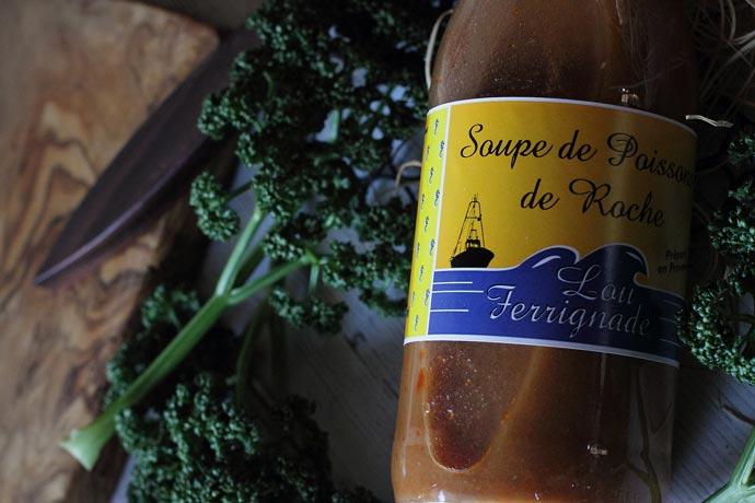 南フランスの魚介類スープ