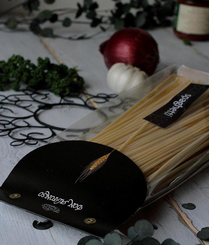 レストラン・ドンアルフォンソのスパゲッティ