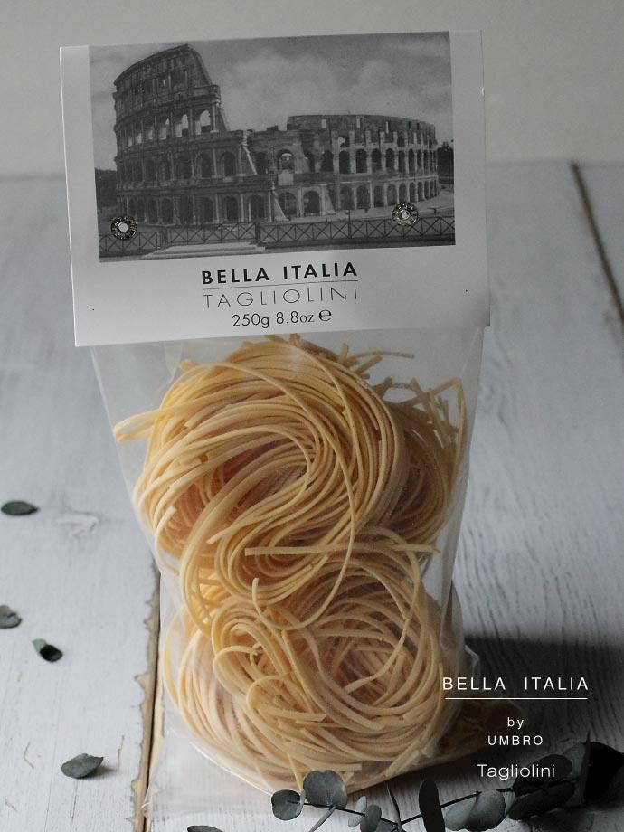 タリオリーニ卵入り Umbro社 250g (Tagliolini by Umbro Italy) イタリア産