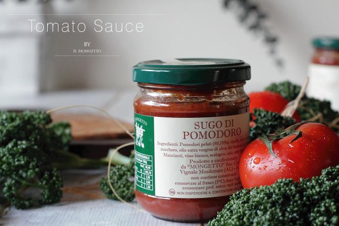 トマトソース イル・モンジェット社 イタリア産 (Italian Tomato Sauce by il mongetto)