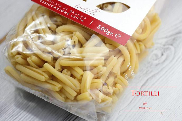 トルティッリ ベリーニ社 イタリア産 ショートパスタ (Italian short pasta Tortilli by Verrigni)