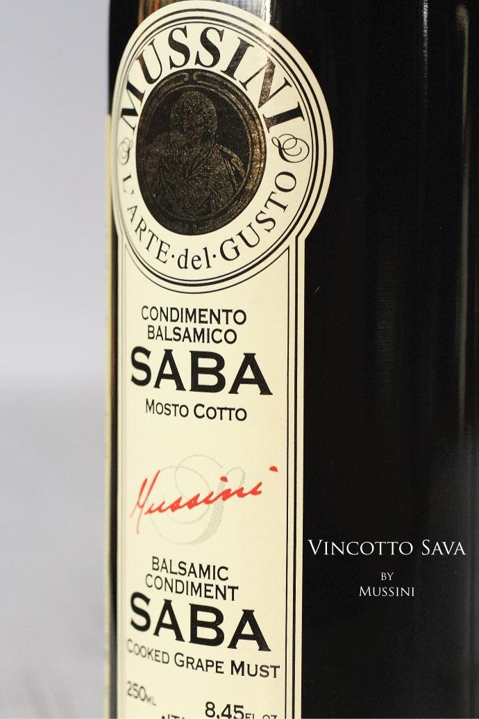 ヴィンコット・サバ ムッシーニ社 イタリア Vincotto Sava by Mussini Italy