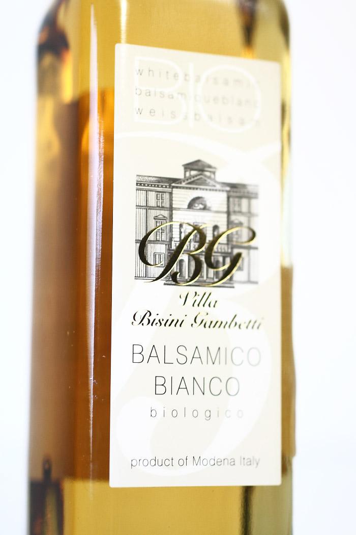 イタリア産 オーガニック 白バルサミコ酢 250ml ビシーニ社 (Italian organic white balsamico by Bisini)