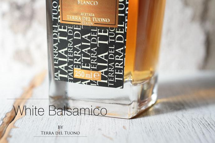 ホワイト・バルサミコ酢 250ml テッラデルツォーノ社 イタリア産 (Italian White Balsamico by Terra del tuono)