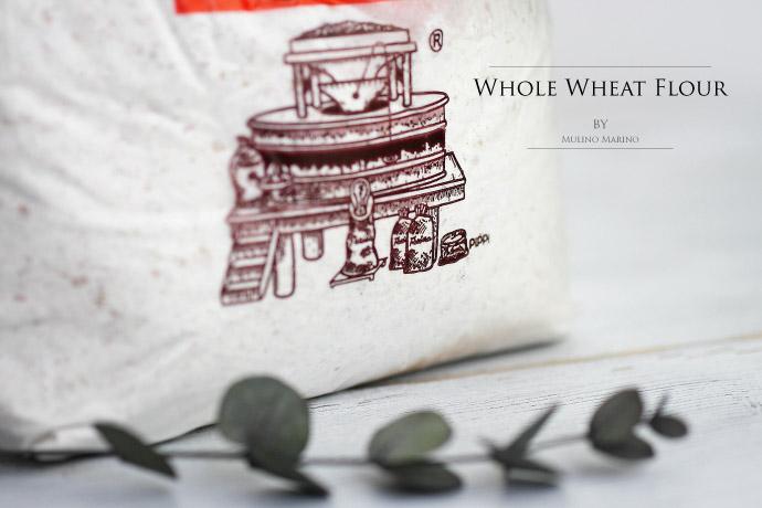 全粒粉 ムリーノマリーノ社 イタリア産 (Italian Whole Wheat Flour by Mulino Marino)